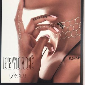 Beyoncé Flash Tattoos